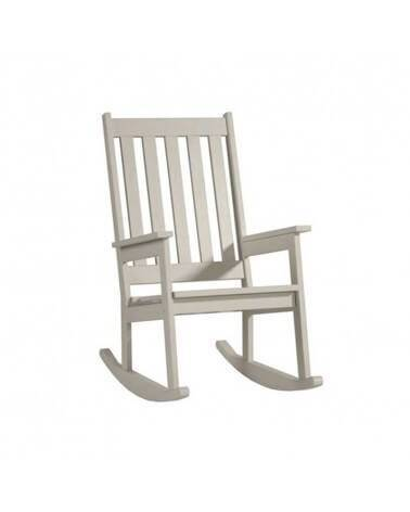 Rocking Chair Blanc collection Barcelone