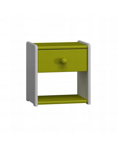 Table de nuit vert