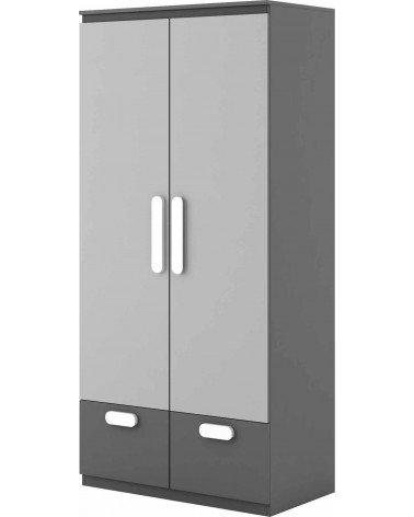 Armoire double blanc Play