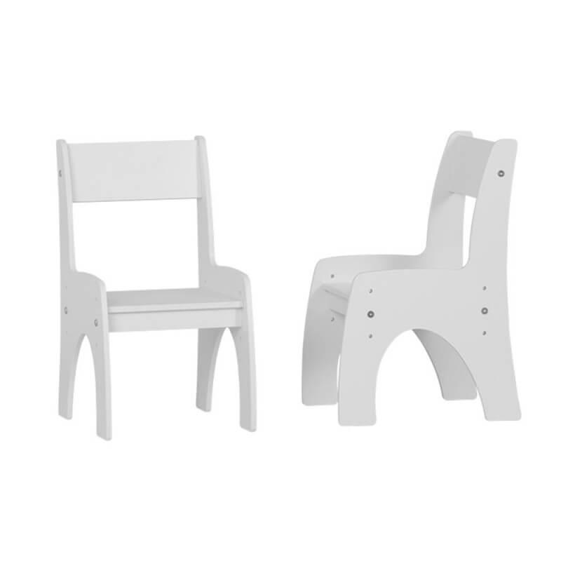 Chaise réglable blanche pour bébé
