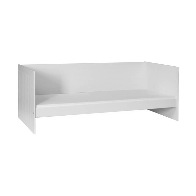 Lit Royal Enfant 200 cm x 90 cm - Blanc