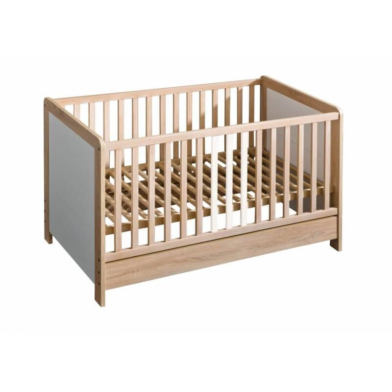 lit b b lara 140 x 70 ch ne. Black Bedroom Furniture Sets. Home Design Ideas