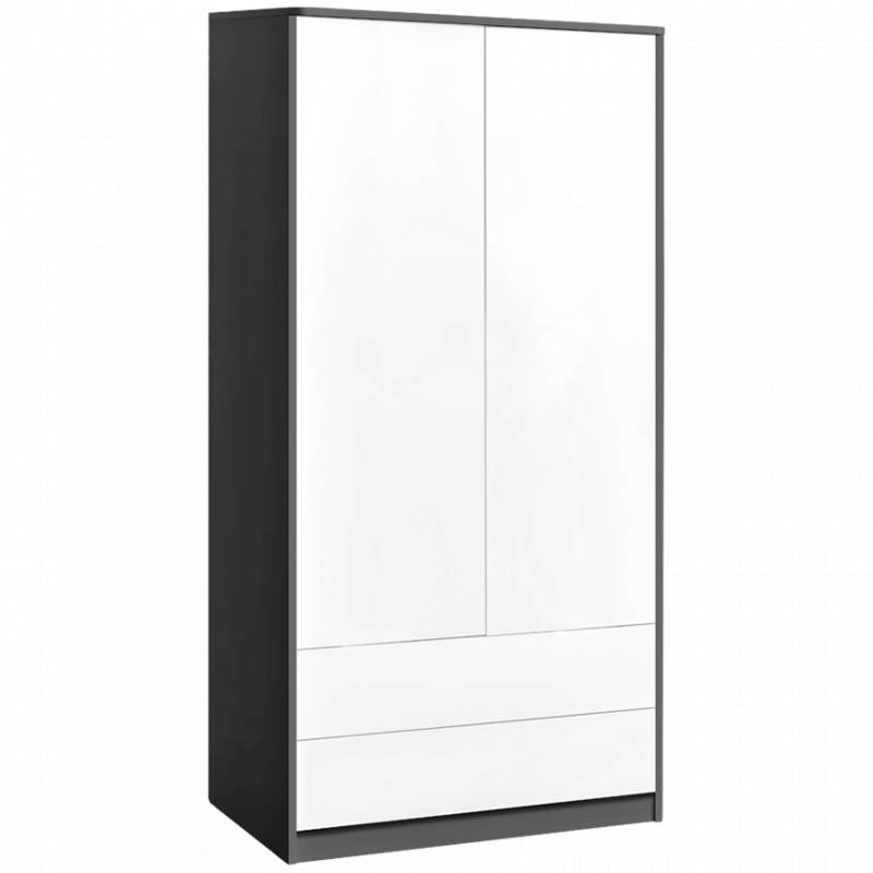 armoire sweet deux portes. Black Bedroom Furniture Sets. Home Design Ideas