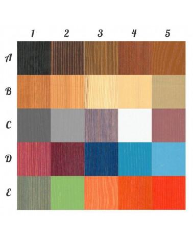 Lit enfant superposé Domi personnalisable dans ces couleurs, nous contacter pour personnaliser.