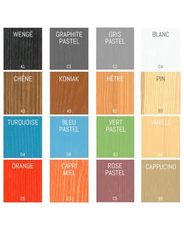 Lit enfant superposé César personnalisable dans ces couleurs, nous contacter pour personnaliser.