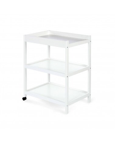 Table à langer mobile - Blanc