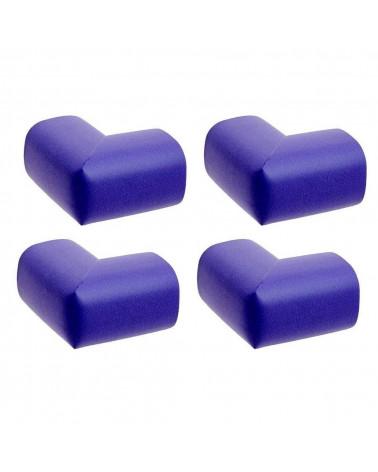 Lot de 4 Mousse Antichoc de Protection de table - Bleu