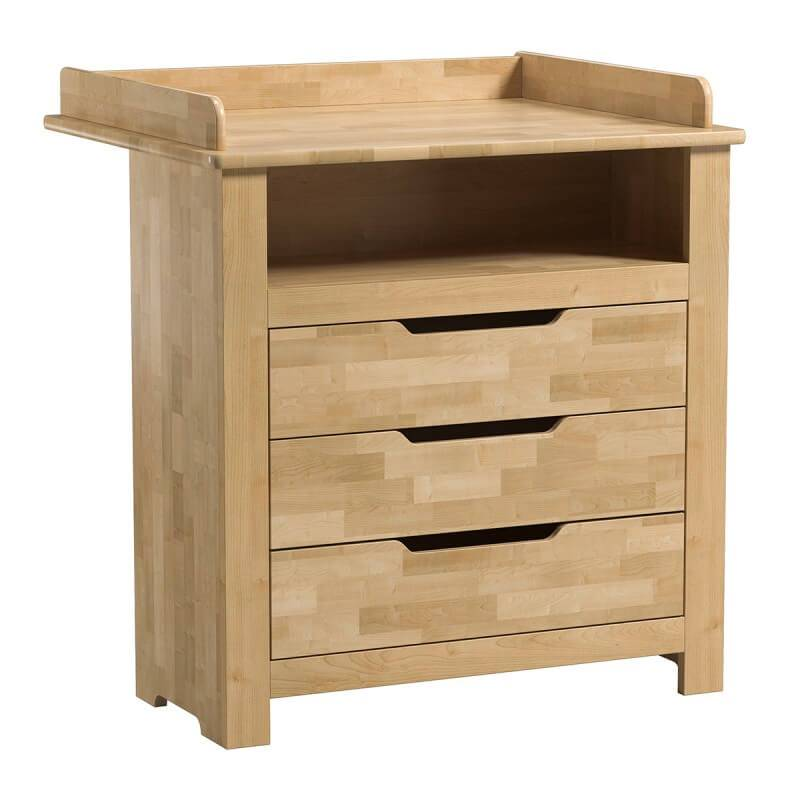 Commode avec plan langer amovible collection betula - Commode avec plan a langer ...