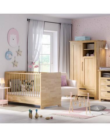 Chambre bébé écologique en Bouleau Massif