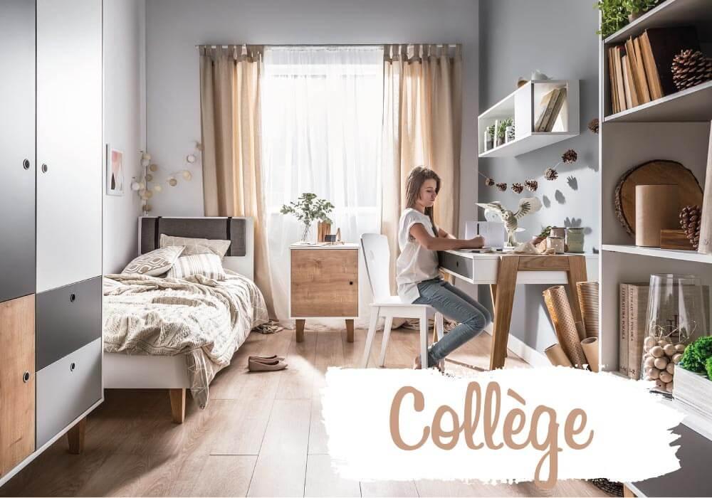 Mobilier enfant collège