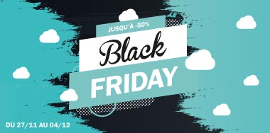 promotions pour le Black Friday