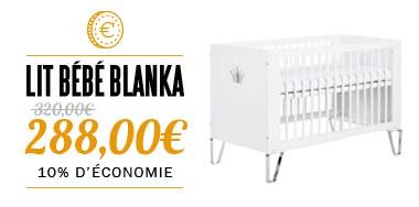Lit bébé BLANKA 140x70