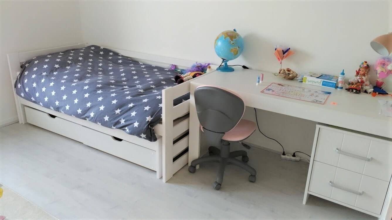 Bureau Calmo blanc et caisson Petite Chambre