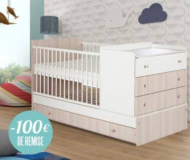 Lit Bébé Compact De Chez Petite Chambre