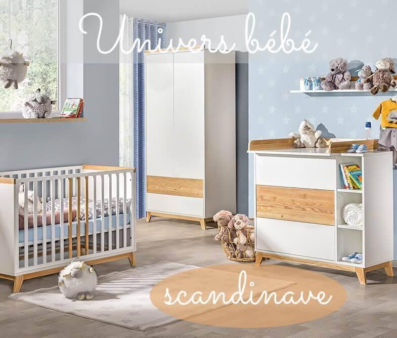 Chambre Pour Bébé Style Scandinave
